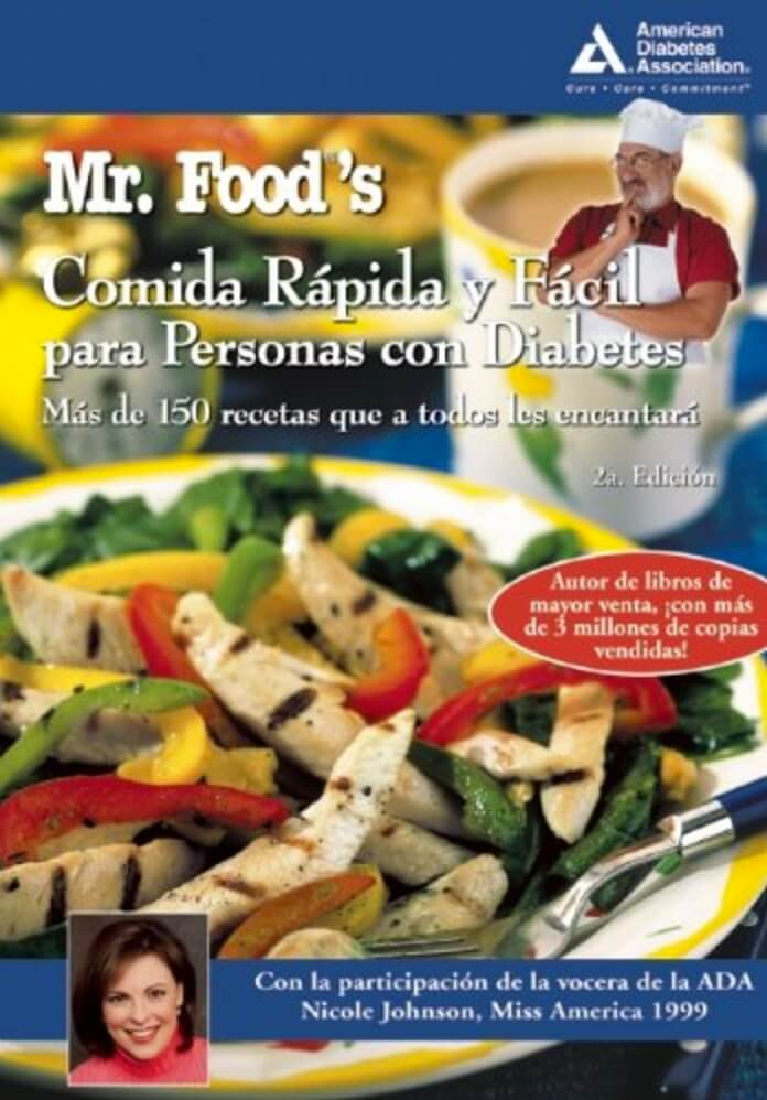 Mr. Food's Comida Rápida y Fácil para Personas con Diabetes (Spanish Edition)